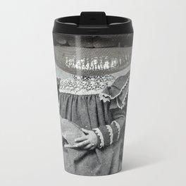 Linda Lippy Lapin Lap Metal Travel Mug
