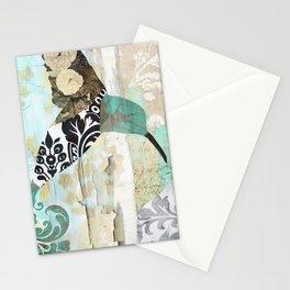 Hummingbird Batik II Stationery Cards