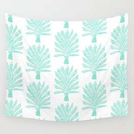 Palm Tree – Mint Palette Wall Tapestry