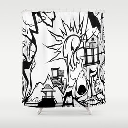 Section 8 Shower Curtain