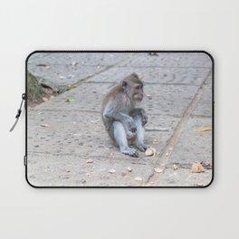 Crab-eating Macaque VII (Balinese Monkey) Laptop Sleeve