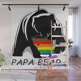 Papa Bear Philadelphia Gay Wall Mural