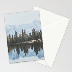 Italian Dolomites (landscape version) Stationery Cards