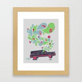 Hauntin' Dirty Framed Art Print