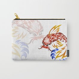 Jumping Koi Carry-All Pouch
