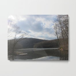 Ghost Lake, NJ Metal Print