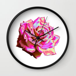 Loveable Flower Design Wall Clock
