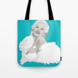Platinum Blonde - Jean Harlow Tote Bag