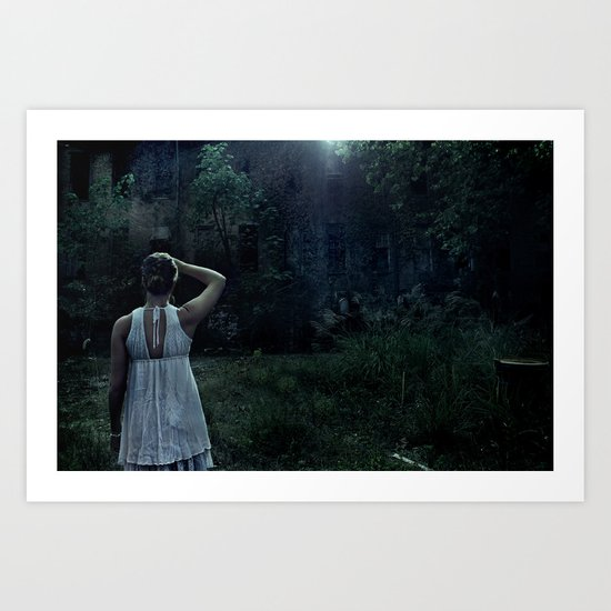 Dark Ambition Art Print