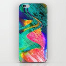 energy overload iPhone Skin