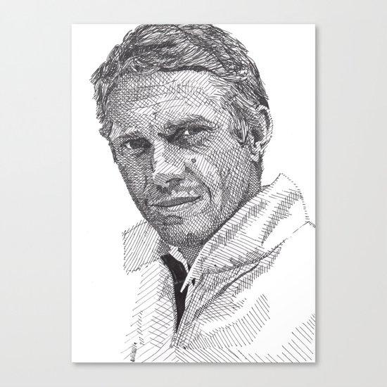 Steve Canvas Print