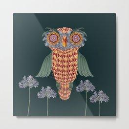 The owl of wisdom Metal Print