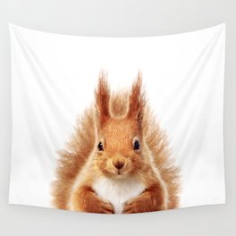 Baby Squirrel, Baby Animals Art Print By Synplus Wall Tapestry
