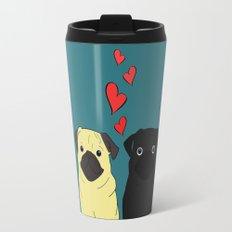 Pugs In Love Travel Mug