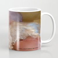 bdsm Mugs featuring funny painting Oral sex BDSM transgender man woman wig blow job blowjob facial submission sissy boi  by Velveteen Rodent