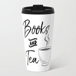 Books & Tea Travel Mug