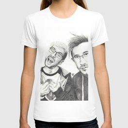 Markiplier and Jacksepticeye T-shirt