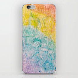 Rainbow Abstract #1 iPhone Skin