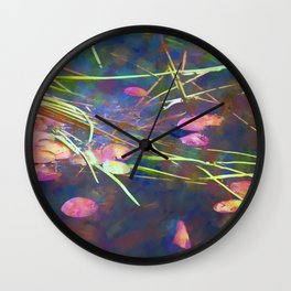 Distant Reflections Wall Clock