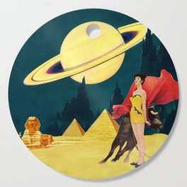 Yellow Summit Cutting Board