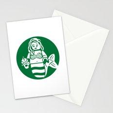 Minifigure Mermaid Stationery Cards