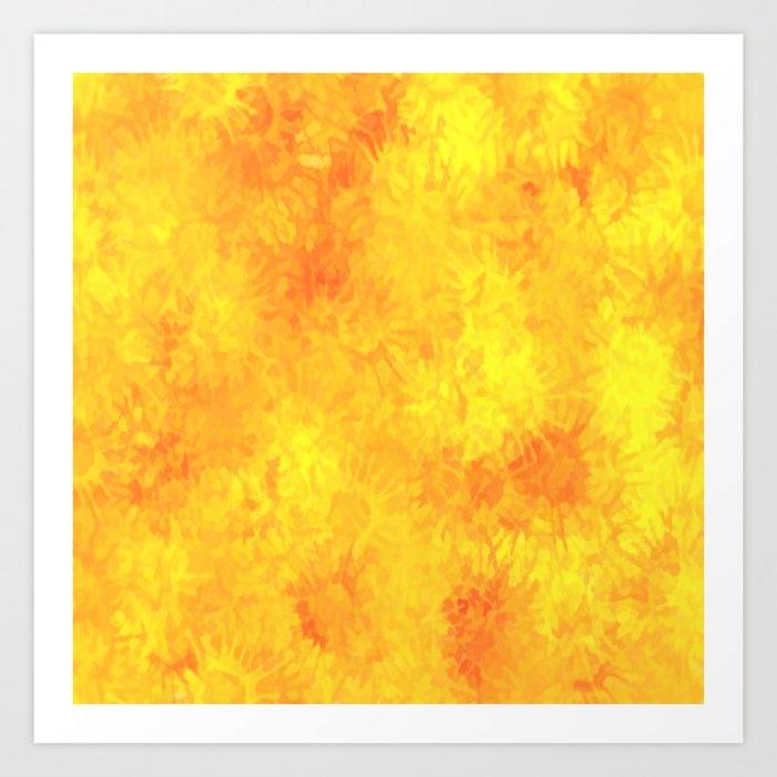 Autumn Splash Art Print
