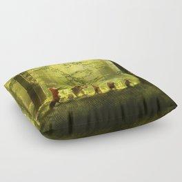 Secret Parade Floor Pillow