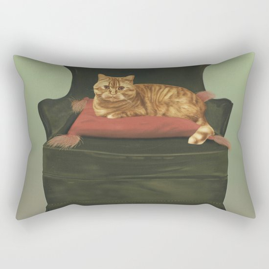 This is my throne Rectangular Pillow