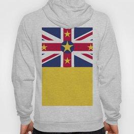 Niue flag emblem Hoody