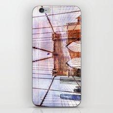 Brooklyn Bridge Art iPhone & iPod Skin