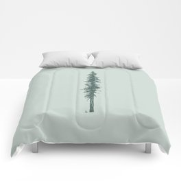 Love in the forest - sage Comforters