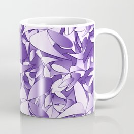 Pattern violet 211 Coffee Mug