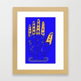 Reflexology Framed Art Print