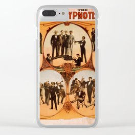 Vintage poster - Barnum the Hynotist Clear iPhone Case