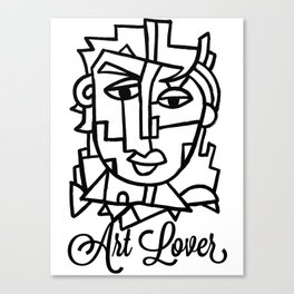 Art Lover Poster Print by Robert Erod Canvas Print
