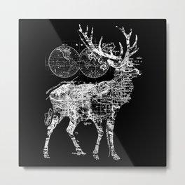 Deer Wanderlust Metal Print