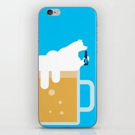 polar beer iPhone Skin