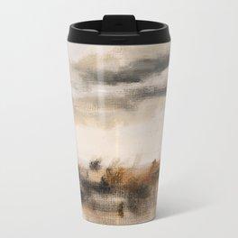 Steppe landscape Travel Mug