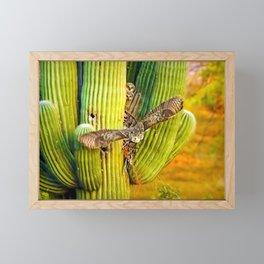 Here She Comes Framed Mini Art Print