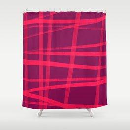 Mistake P2 Plaid Shower Curtain