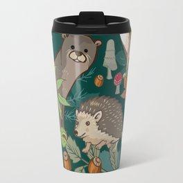 Animals In The Woods Travel Mug