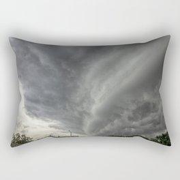 Cloud Wall Turning Rectangular Pillow