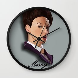 Hey Missy!  Wall Clock