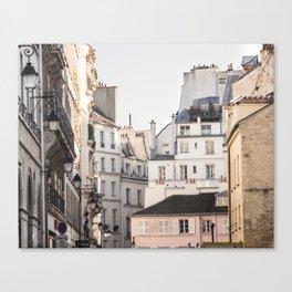 Isle Saint Louis in Paris Canvas Print