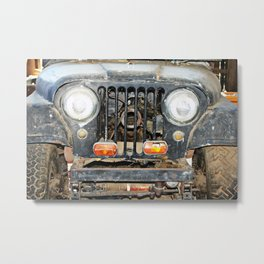 Willie Jeep Metal Print