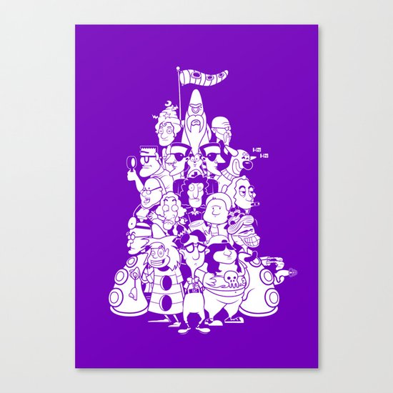 Day at the Mansion Canvas Print