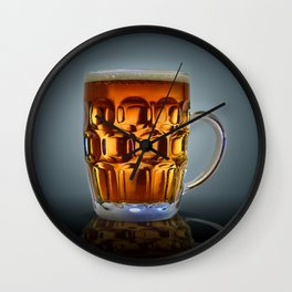In Search Of The Holy Ale. Wall Clock