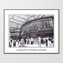 GLASGOW CENTRAL STATION Canvas Print