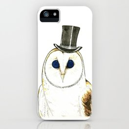 CHOUETTE iPhone Case