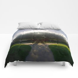 Glorious Olive Tree Comforters